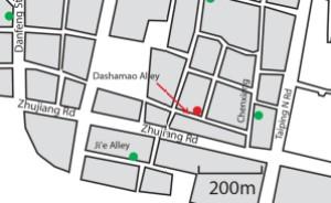 Nanjing Street map